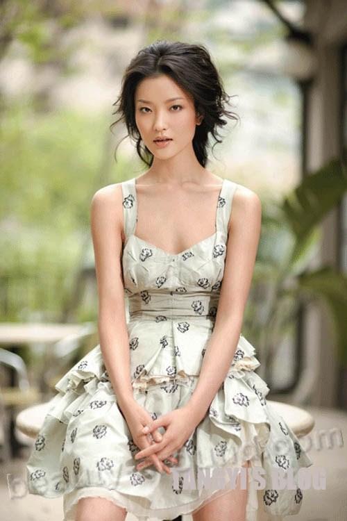 Ду Жуан / Du Juan красивая китайская модель и бывшая балерина