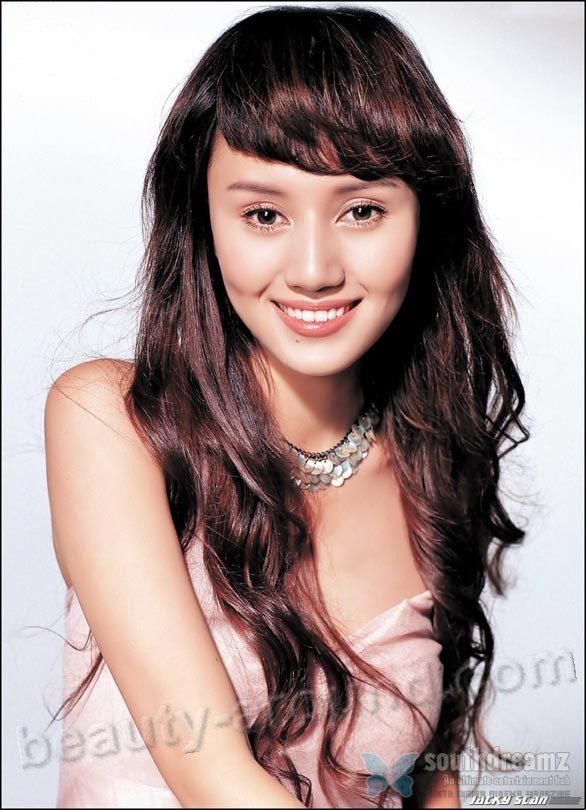 Yuan Quan most beautiful chinese women photos