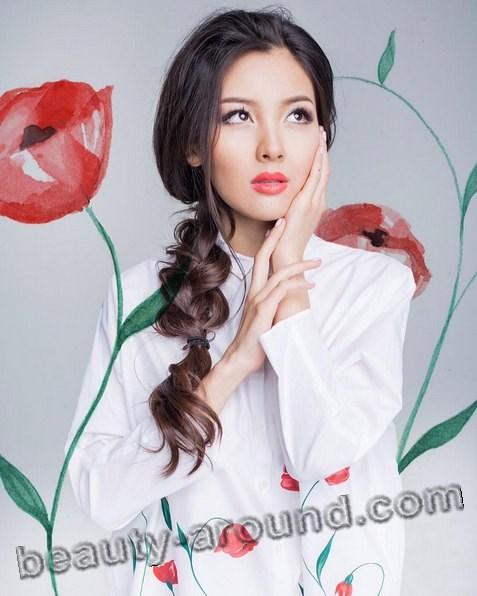 Айдана Меденова талантливая казахстанская певица фото