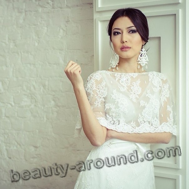 Dinara Baktyubaeva most beautiful Kazakh actress photo