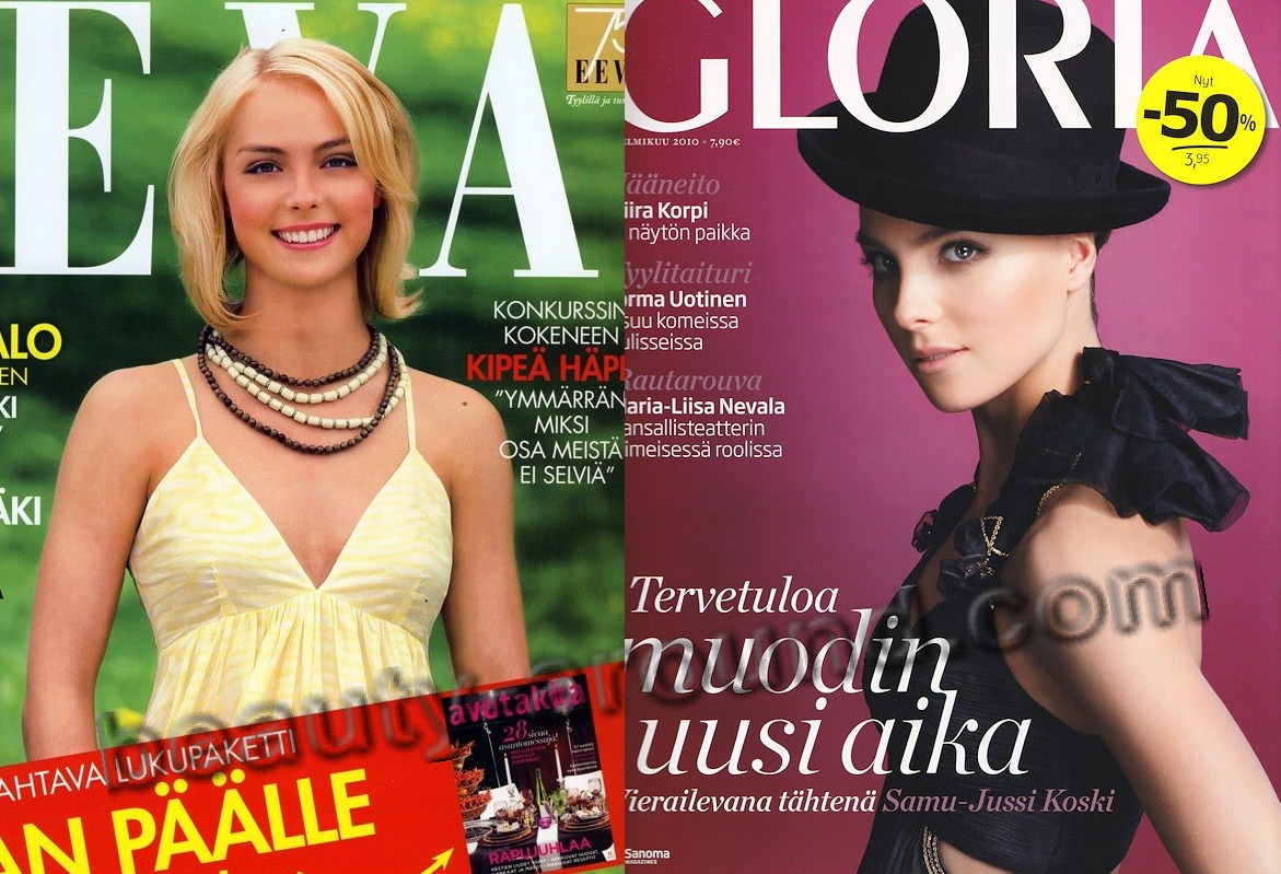 Kiira Korpi on Magazine cover