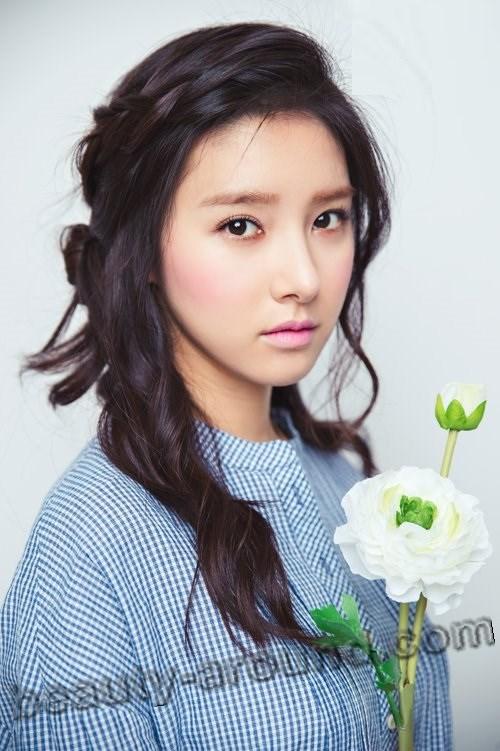 Ким Со Ын с цветком фото