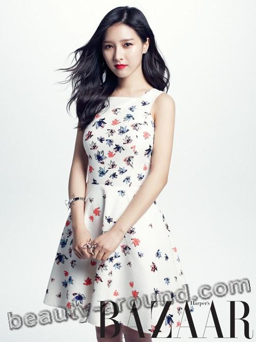 Ким Со Ын фото в модном журнале