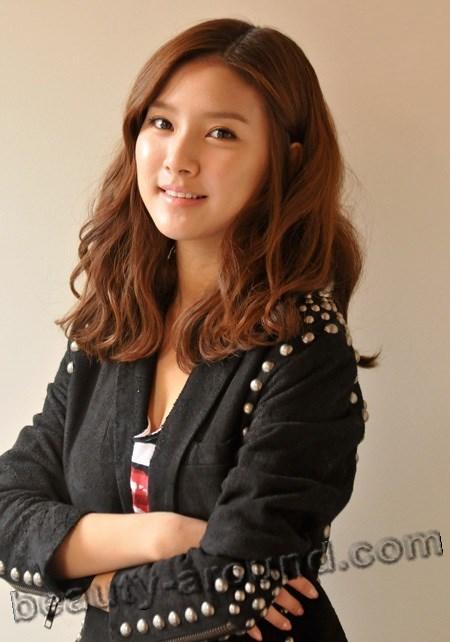 Ким Со Ын с другим цветом волос рыженькая  фото