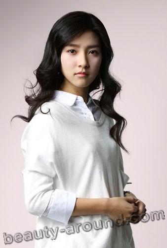 Ким Со Ын с длинными волосами фото