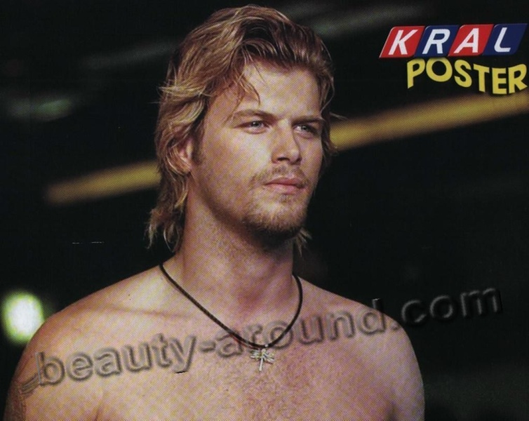 Kivanc Tatlitug Turkish actor, photo in his youth