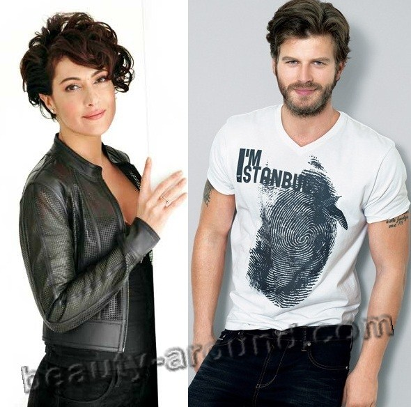 Kivanc Tatlitug with Meltem Cumbul photo
