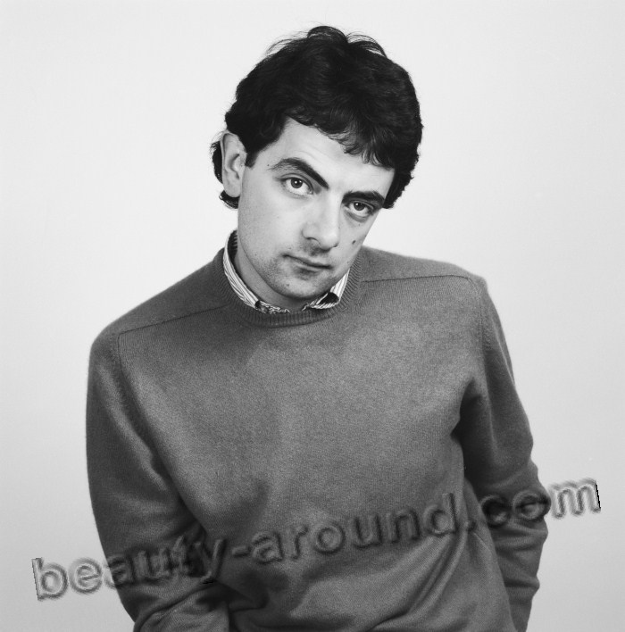 Rowan Sebastian Atkinson best english comedian