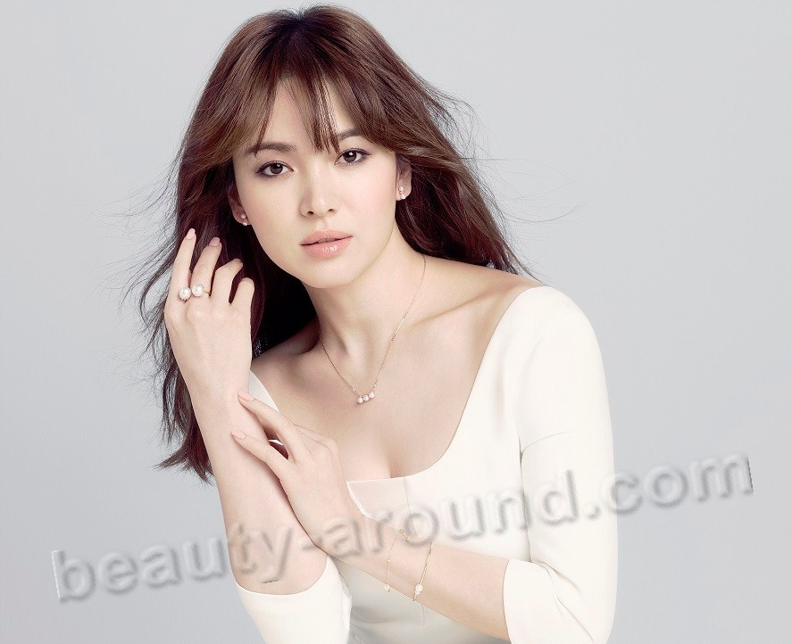 Song Hye Kyo most beautiful model from Korea picture