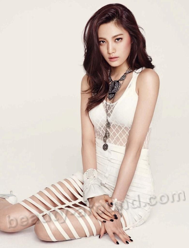 Им Нана южно-корейская модель фото