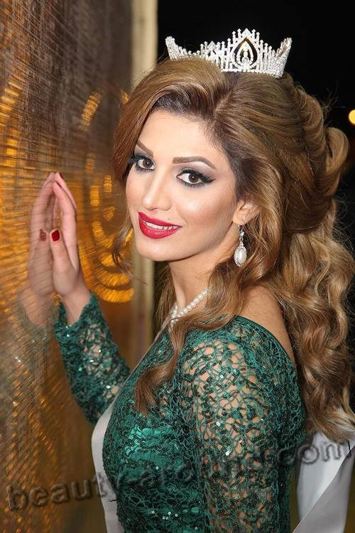 Fenk Muhammed Miss Kurdistan 2013 photo