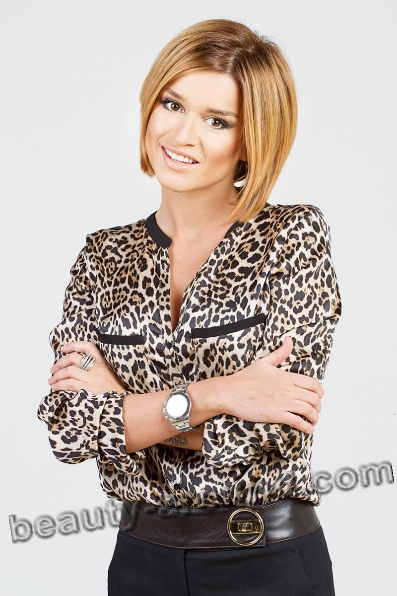 Ksenia Borodina beauty Russian TV host of Yazidi origin photo
