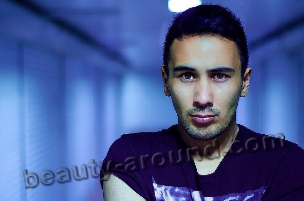 Kyrgyz singer Arman Esengozhoev photo