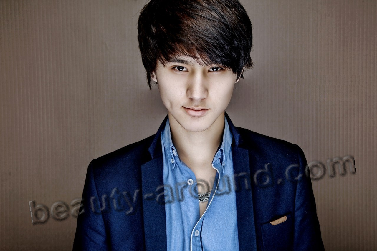 Talgat Matisakov most handsome Kyrgyz singer photo