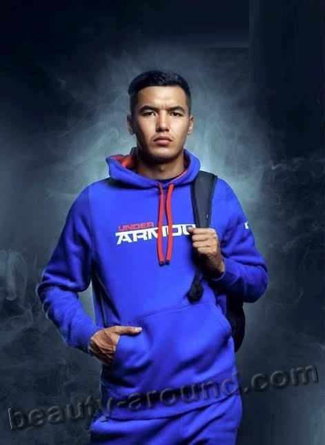 Azamat Baymatov Kyrgyz footballer photo