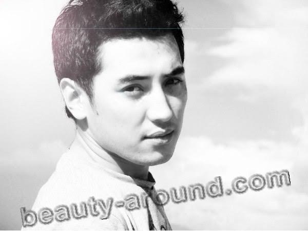 Kanat Abdyrakhmanov Kyrgyz actor picture