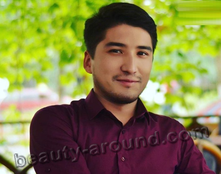 Nurlan Raiymbek Kyrgyz TV-presenter photo