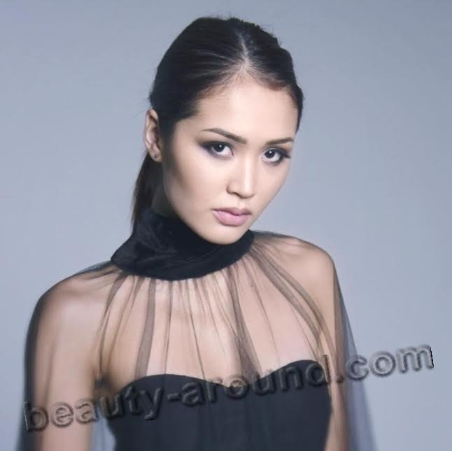 Бегимай Карыбекова красивая кыргызская модель фото