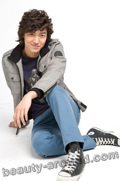 Ли Мин Хо в спортивной одежде фото