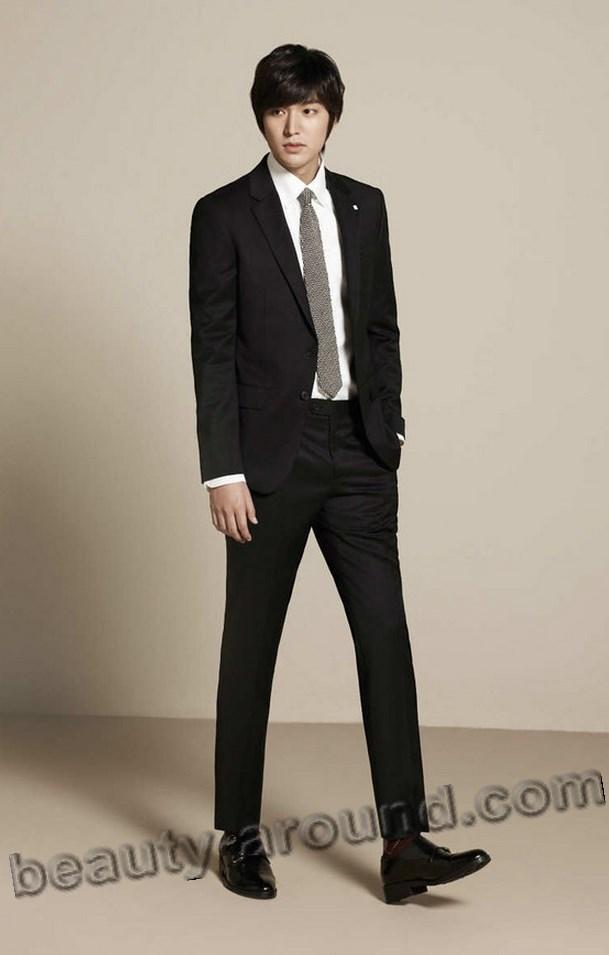 Ли Мин Хо в полный рост в костюме фото