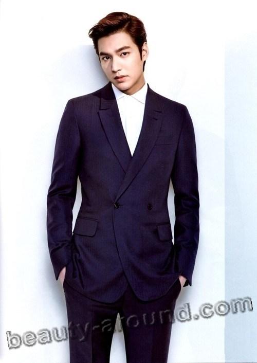 Ли Мин Хо с зачёсом фото