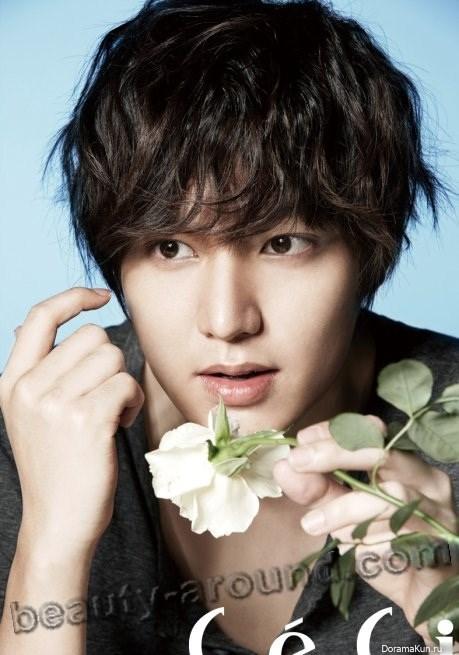 Ли Мин Хо с цветом фото