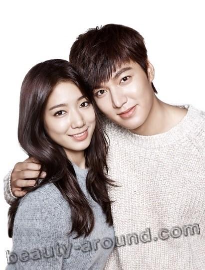 Ли Мин Хо и Пак Шин Хё фото вместе