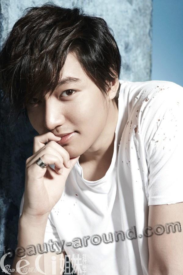 Ли Мин Хо на страницах журнала фото