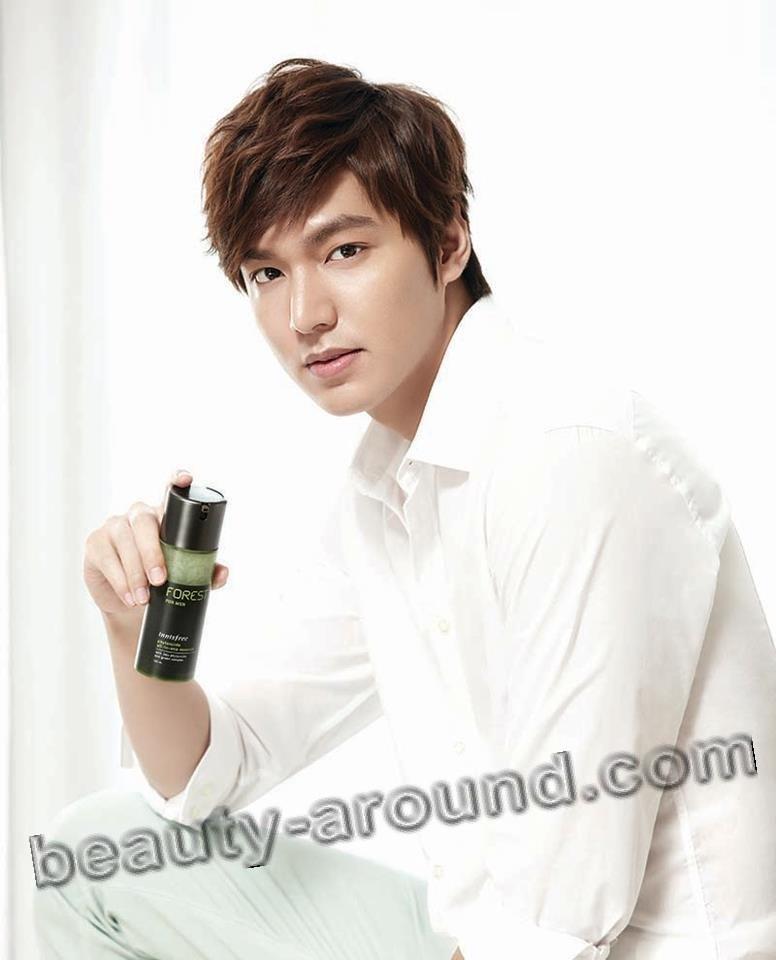 Ли Мин Хо в рекламе косметической продукции фото