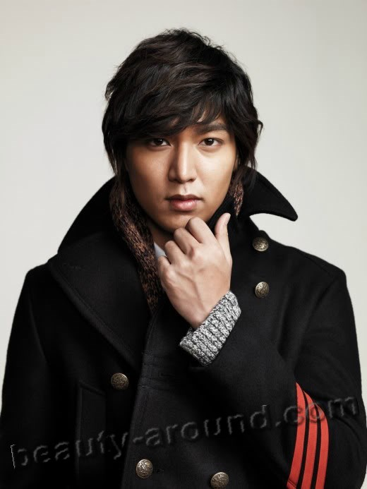 Ли Мин Хо в пальто фото