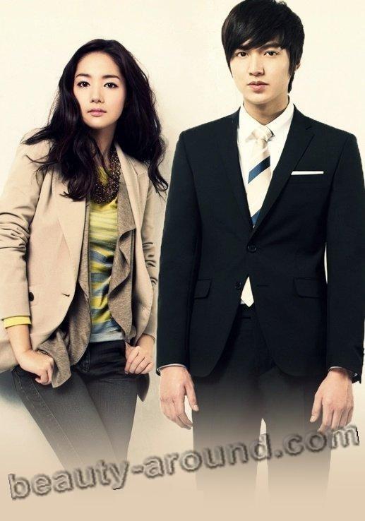 Ли Мин Хо и Пак Мин Ен пара фото