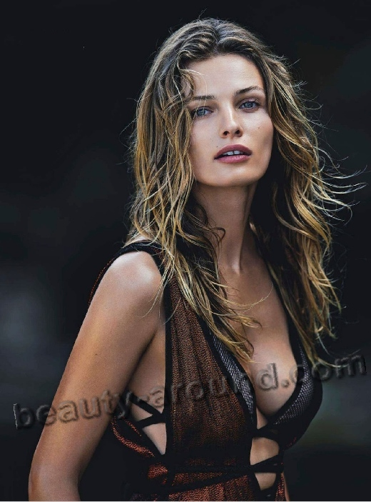 Edita Vilkeviciute Lithuanian top model photo