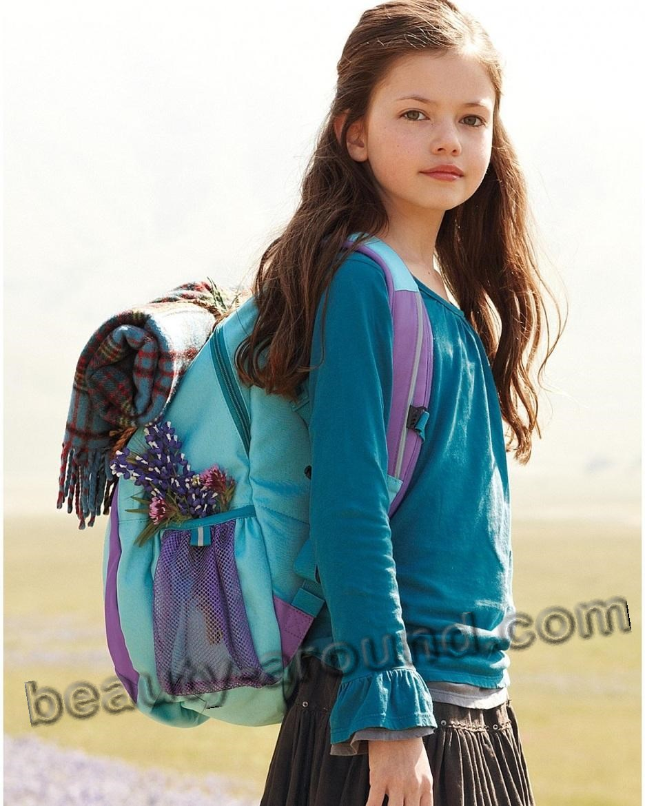 Mackenzie Foy baby photo