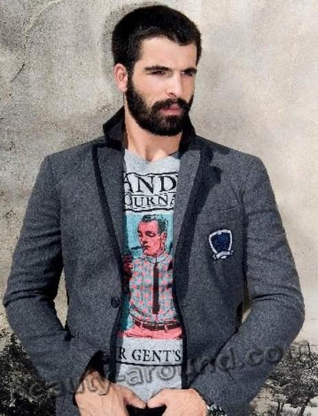 Мехмет Акиф Алакурт с бородой фото