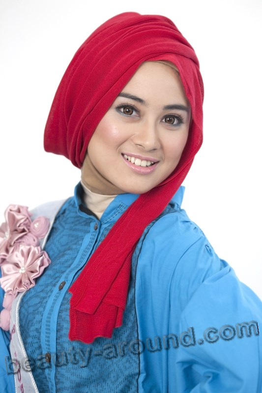 Nina Septiani photo, Miss World Muslimah 2012 photo