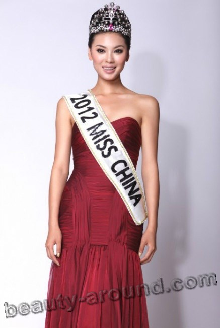 miss World 2012 winner Yu Wenxia