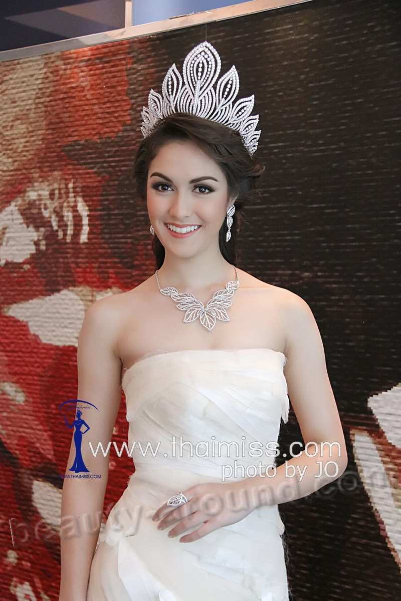 Farida Waller Miss Thailand 2012  Miss Universe 2012 photo