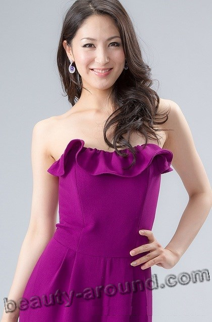 Miss International 2012 Ikumi Yoshimatsu (Japan) photo