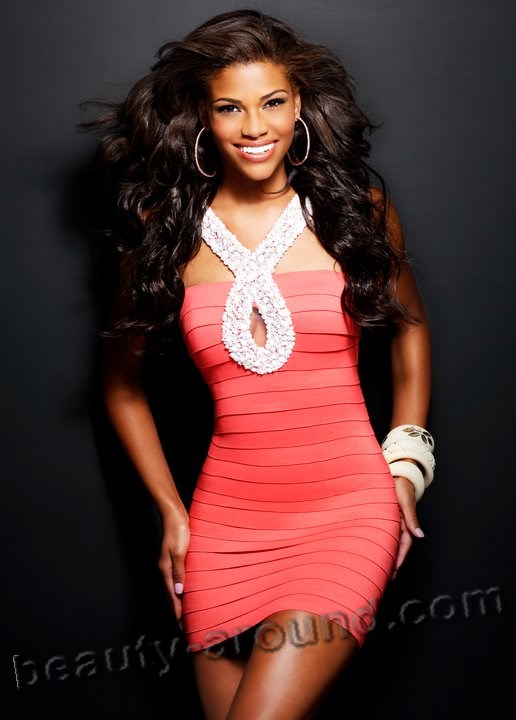 Miss Teen USA 2010 Kamie Crawford black beauty photo