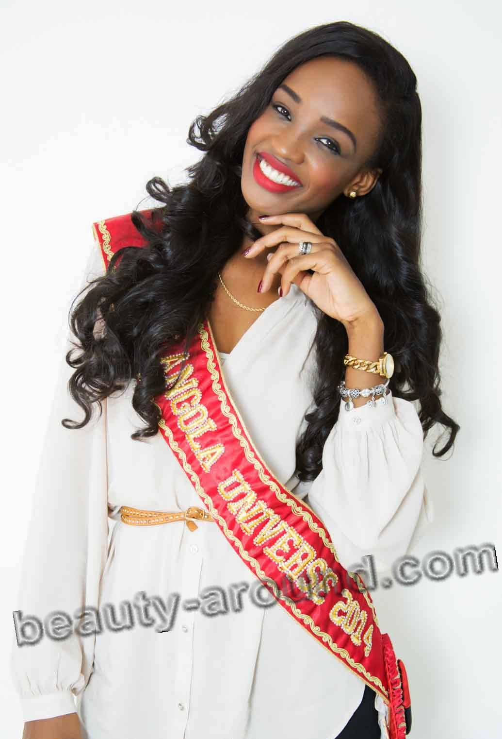 Contestants Miss Universe 2014. Zuleica Wilson Miss Universe Angola photo