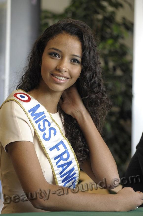 Мисс Вселенная Франция-2015 Flora Coquerel фото