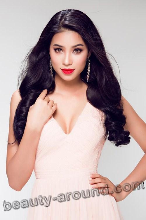 Мисс Вьетнам-2015 Huong Pham фото