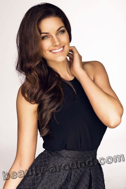 Beautiful contestants Miss World 2014. Rolene Strauss Miss South Africa 2014 photo