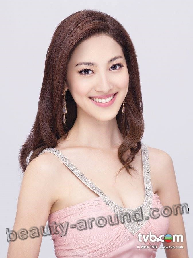 Beautiful contestants Miss World 2014. Grace Chan Miss Hong Kong 2014 photo