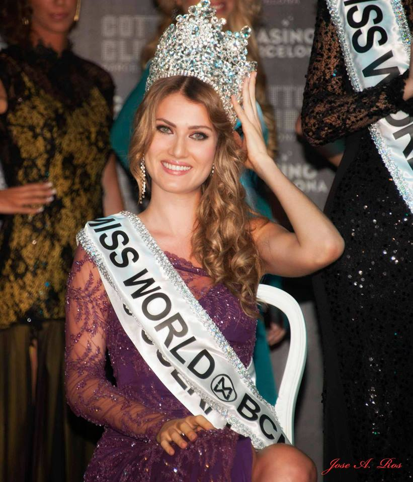 Mireia Lalaguna Miss World 2015 winner