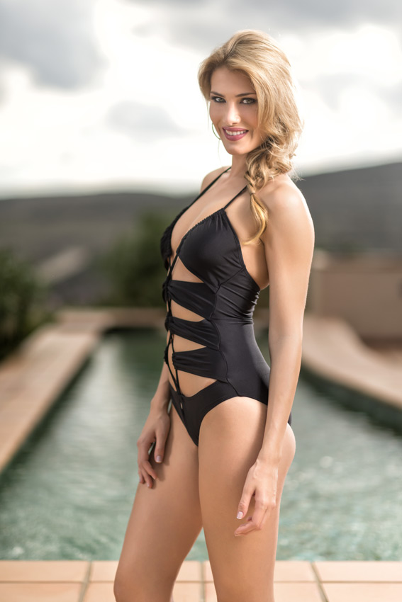 Mireia Lalagunain swimsuit photo