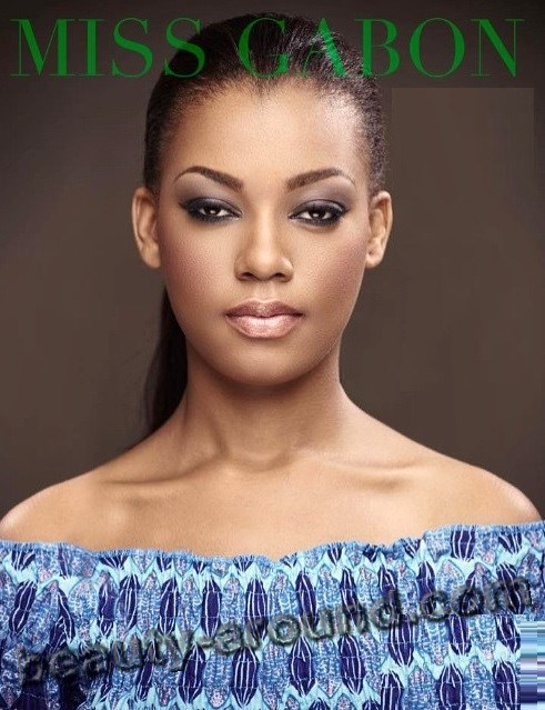 Miss Gabon-2015 Reine Ngotala photo