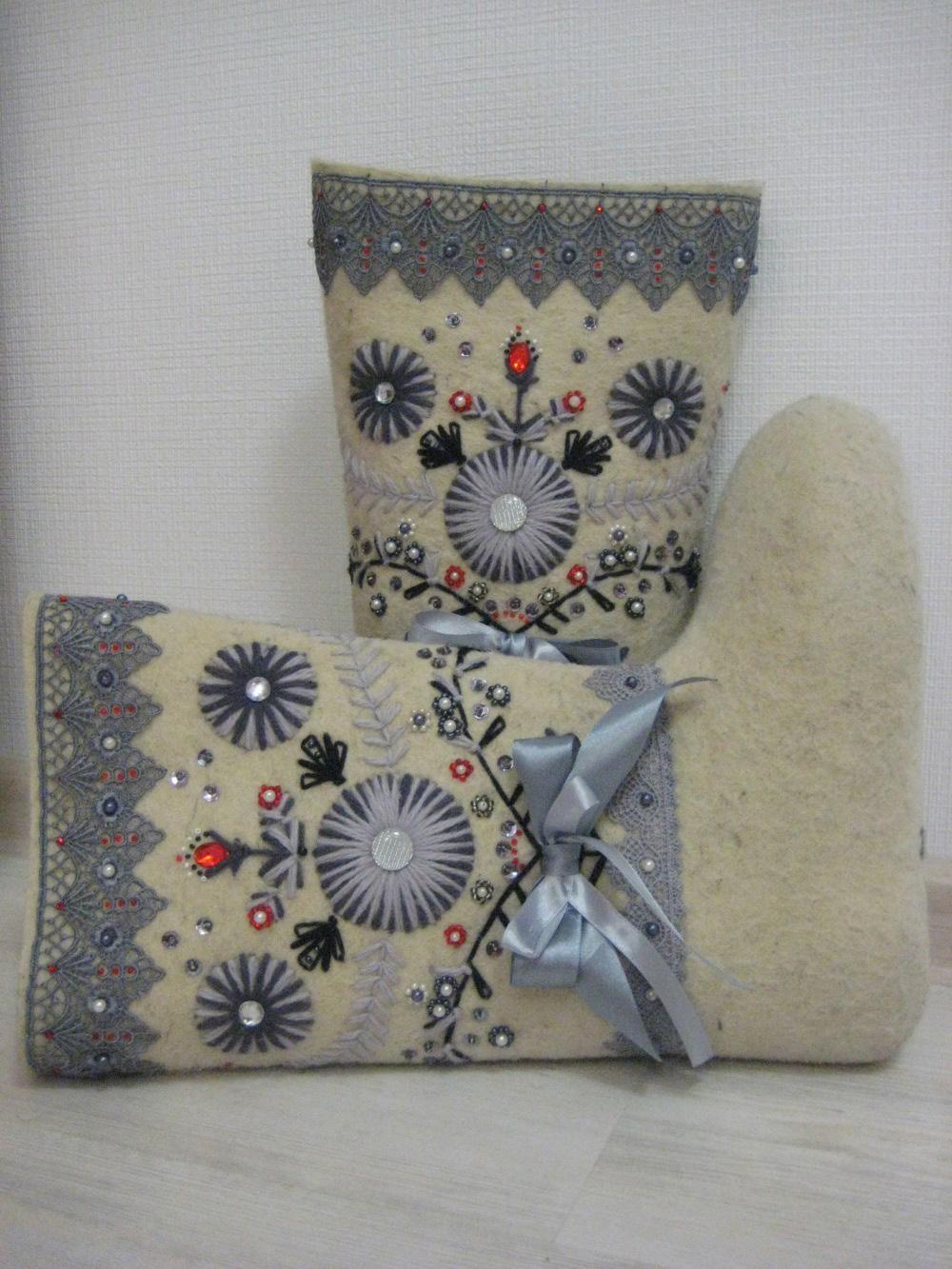 Дизайн валенок своими руками
