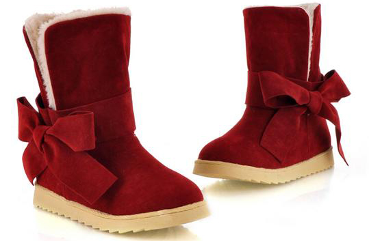 modern red ugg boots photos