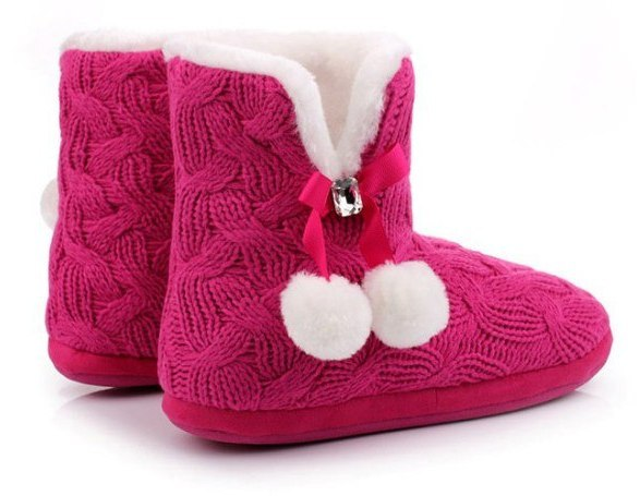 homemade knitted ugg boots